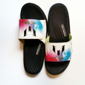 Adidas Messi Supercloud Velcro Sandals - 9
